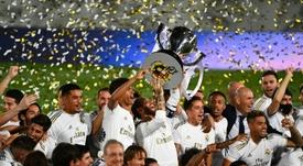 Real Madrid tem jovens que interessam ao Getafe para empréstimos. AFP