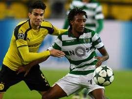 Gelson Martins estaría a un paso de desembarcar en el Metropolitano. AFP