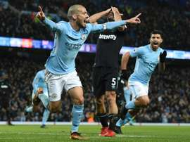 David Silva scored the late winner. AFP