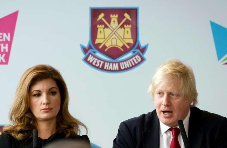 La vicepresidente del West Ham anunció la noticia. AFP