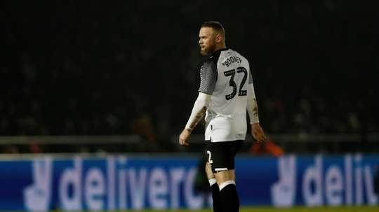 Rooney négocie une baisse des salaires avec Derby County. AFP