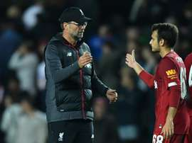 Nantes want the young Liverpool player. AFP
