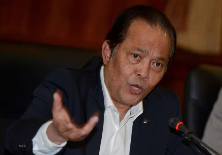 Worawi Makudi, président de la Fédération thaïlandaise et membre du comité exécutif de la FiFA. AFP