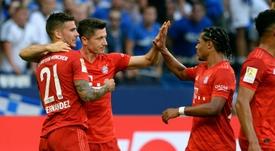 Lucas le ganaría la partida a Davies en el puesto de lateral zurdo. AFP