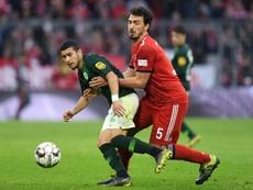 Mats Hummels a été banni de la sélection allemande. AFP