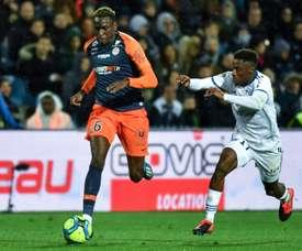 Junior Sambia já está fora de perigo. AFP
