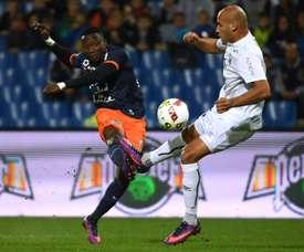Ninga era el hombre más en forma del Montpellier. AFP