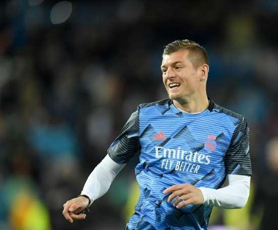 Kroos dévoile la différence entre le Real Madrid et le Bayern. AFP