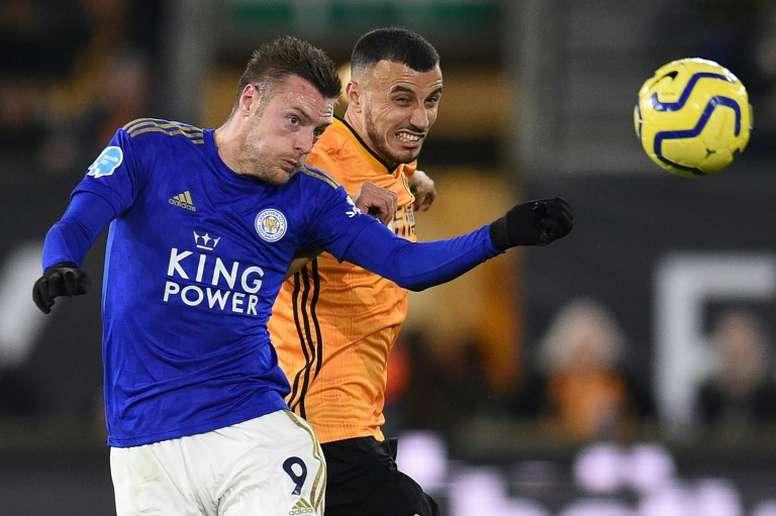 Leicester rate l'occasion de mettre la pression sur City. AFP