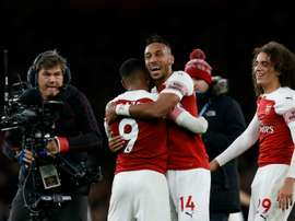 Arsenal showed spririt and passion to win the match. CAPTURA