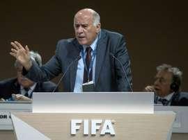 Le président de la Fédération palestinienne de football demande à Messi de ne pas jouer. AFP