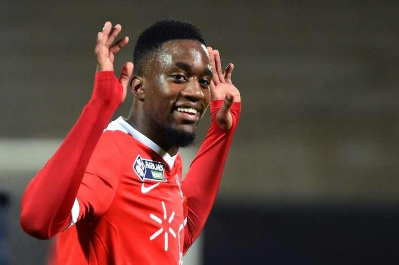 Mbenza quitte la Ligue 1. AFP