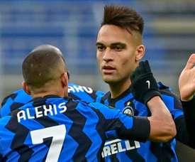 L'Inter sur le podium, la Juve gâche encore. afp