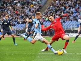 Le formazioni ufficiali di Parma-Lazio. AFP