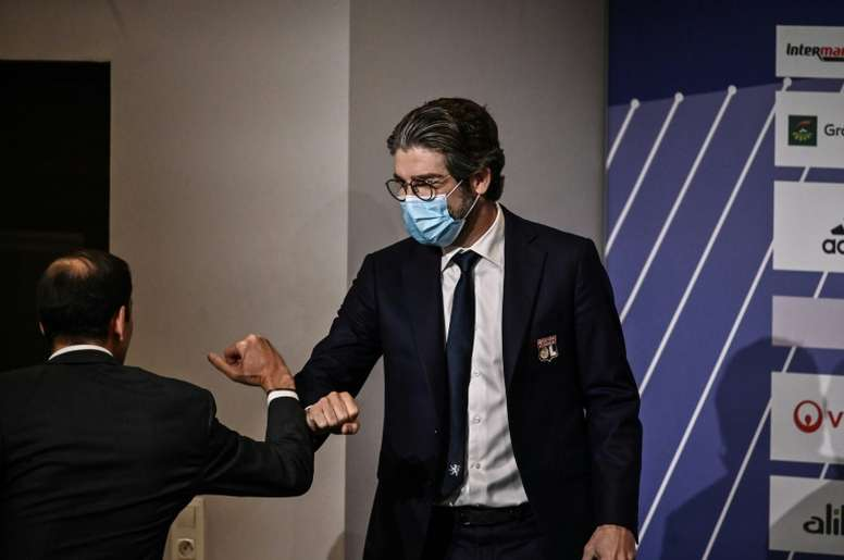 Juninho explique le choix Paquetá. AFP