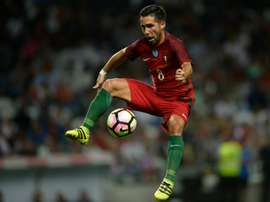 Joao Moutinho scored two goals against Cyprus. AFP