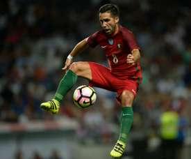 João Moutinho fez ontem o seu jogo nº 106 pela Seleção Portuguesa. AFP