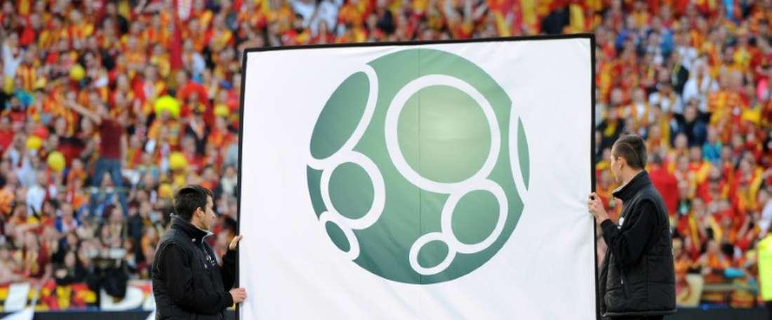 Lens a arraché dans le temps additionnel le match nul. AFP