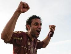 Fred parcourt 600 km à vélo pour rejoindre Fluminense. AFP