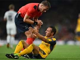 Wenger comentou a lesão de Cazorla. AFP