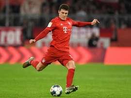 Inspiré par Mandela, Pavard a gagné sa place au Bayern Munich. afp