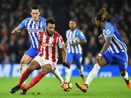 Lewis Dunk was the man of the match in the game. AFP