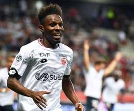 Jules Keita, una nueva estrella en la Ligue 1. AFP