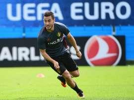 Hazard quiere ser el mejor del mundo. AFP