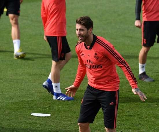 Le défenseur du Real Madrid, Sergio Ramos. AFP