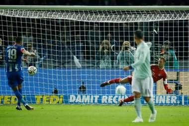 El Bayern no levanta cabeza. AFP