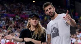 Piqué se burló de Shakira. AFP
