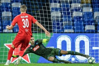 Le Barça dit non à Haaland. AFP