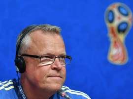 Andersson fait l'éloge de l'Angleterre. AFP