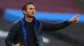 El nuevo deseo de Lampard se 'mojó' sobre el interés del Chelsea. AFP