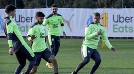 Marseille, déjà sauver l'honneur contre Porto. afp