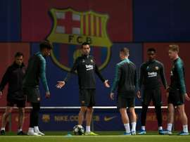 O Barça divulga a sua lista de relacionados para a Champions. AFP