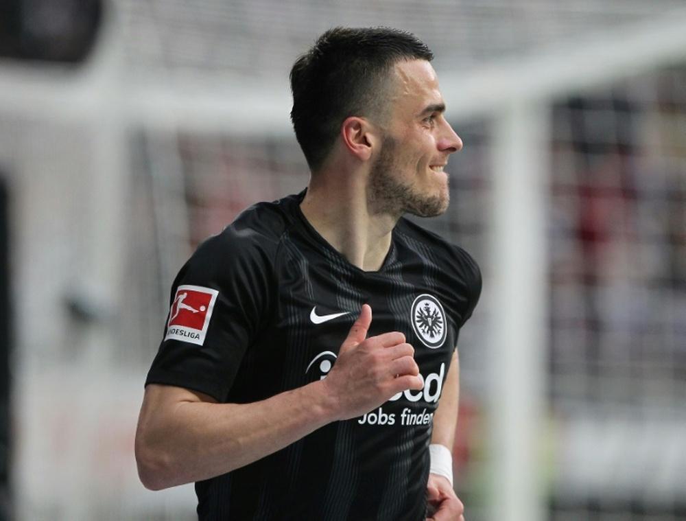 Frankfurt e Stuttgart não passam de um empate. AFP
