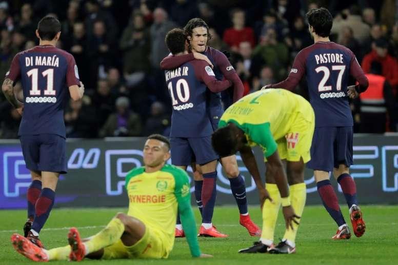 Le PSG se déplace à Nantes sans Neymar. AFP