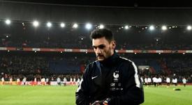 El portero francés selló su nombre en el fútbol francés. AFP