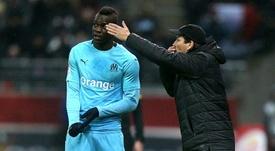 Rudi Garcia elogió a su nueva estrella. AFP
