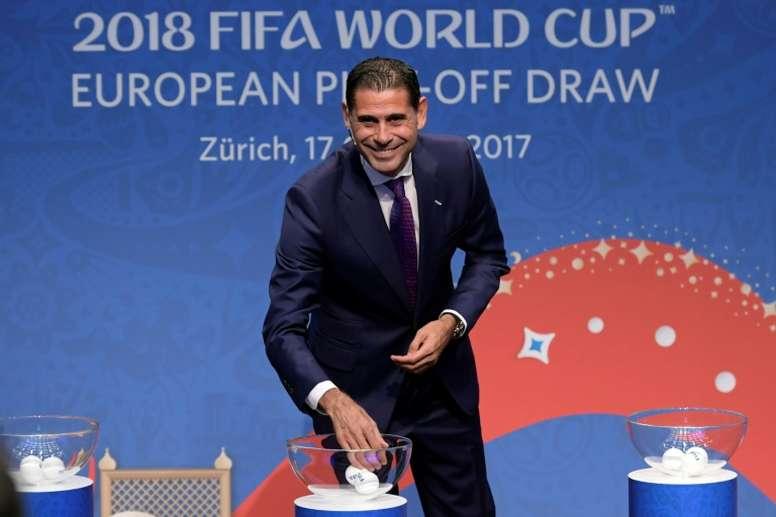Hierro é o novo seleccionador da Espanha.EFE