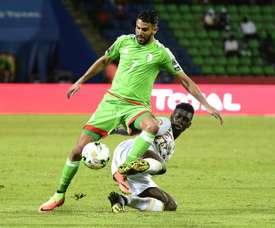 Argelia ha dicho adiós al torneo africano sin ganar ningún partido. AFP