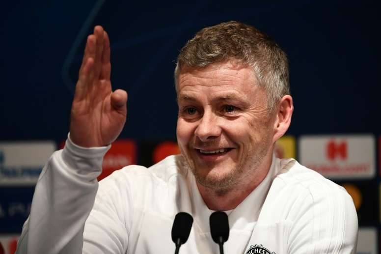 Despite speculation, Solskjaer has claimed there have been no bids. AFP