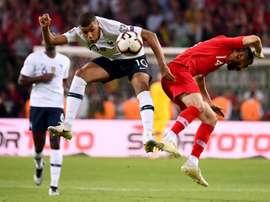 Francia se fue del partido con cuatro disparos, ninguno a puerta. AFP