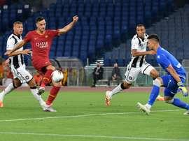 Le formazioni ufficiali di Brescia-Roma. AFP