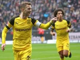 Reus continue de battre ses records personnels. AFP