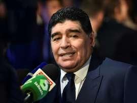Maradona se juega el puesto. AFP