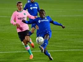 Griezmann et Dembélé sur le banc en Champions League. AFP