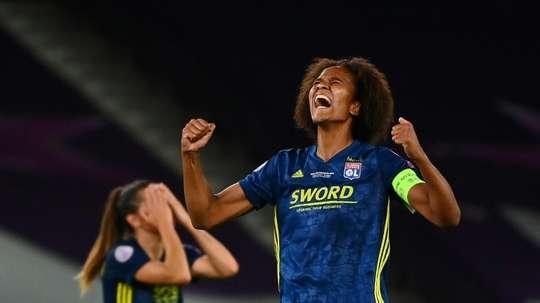 L'OL raffle les prix féminins de l'UEFA. AFP