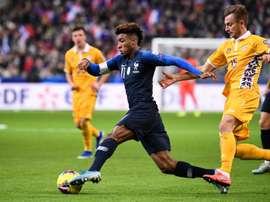 Coman se lesiona e está fora da Seleção da França. AFP